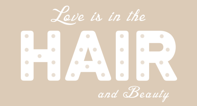 Love is in The Hair Logo Design | Synergize Design