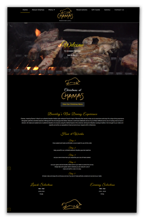 Chamas Rodizio Bar & Grill - Beverley | Synergize Design